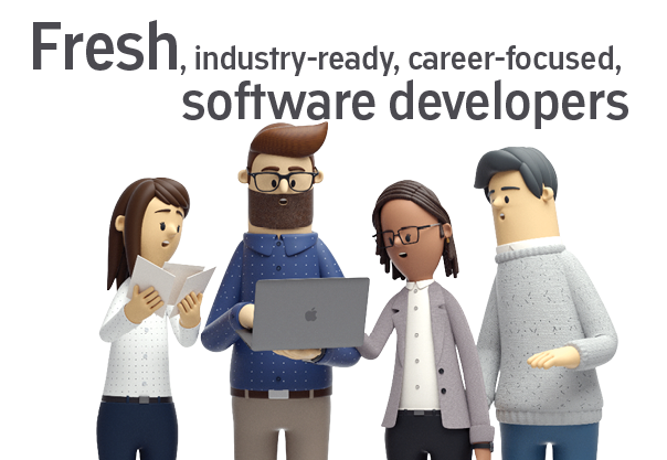 Fresh Digital Talent - 4 new coders